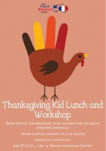 Kids Thanksgiving Montpellier