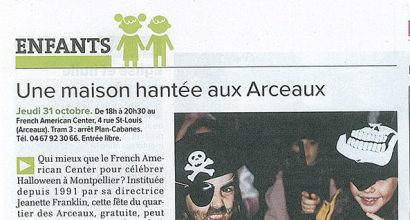 Presse - Article Gazette - Halloween 2013