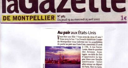 Presse - Au Pair aux USA