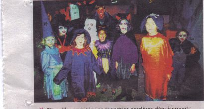 Presse - Le French American Center fête Halloween